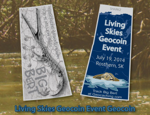 Regular Edition Official Event Geocoin