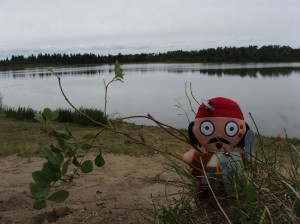 The Last Saskatchewan Pirate - Lobstick lake Photo credit: Alex Paul