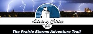 The Prairie Storms Adventure Trail Banner