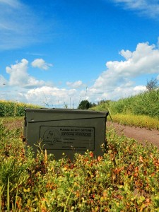 One of hundreds of new caches hidden for Living Skies 2014