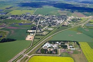 Rosthern Aereal Photo