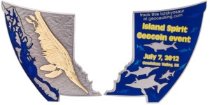 Island Spirit Geocoin Event Coin