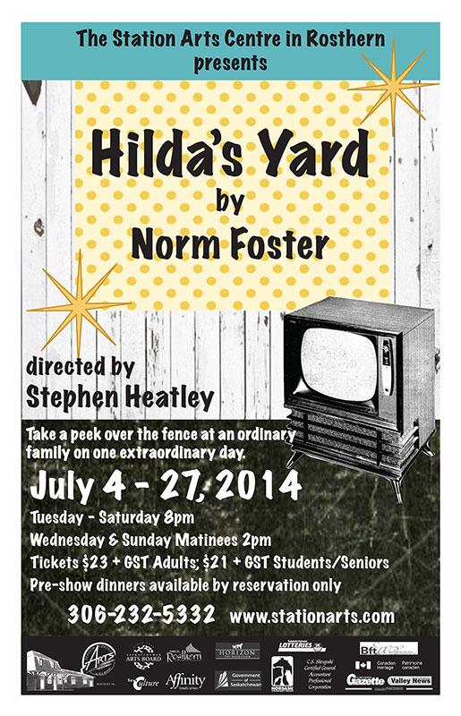 Hilda's Yard Poster